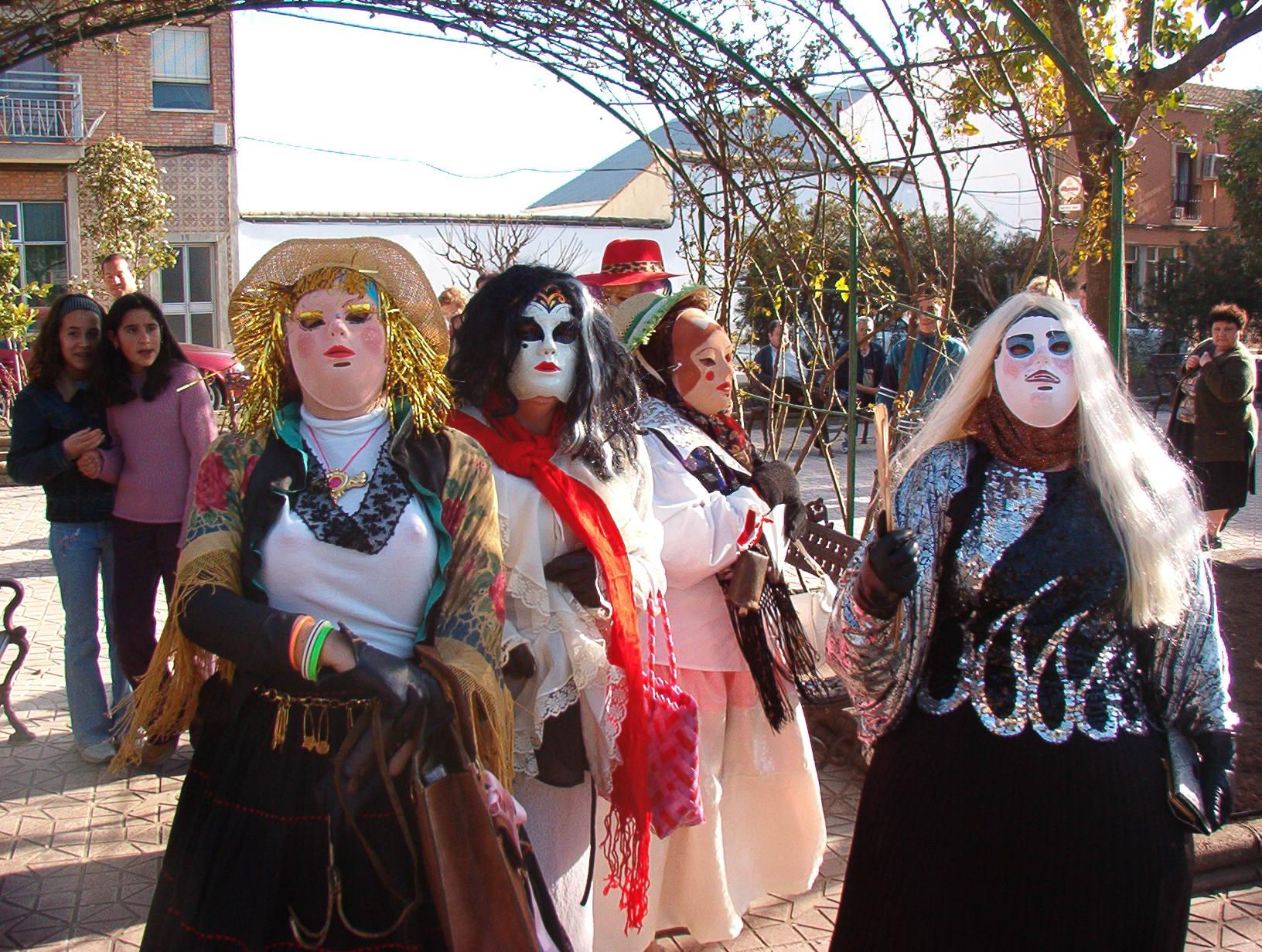 Máscaras de Carnaval 2003